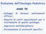 evoluzione dell oncologia pediatrica6