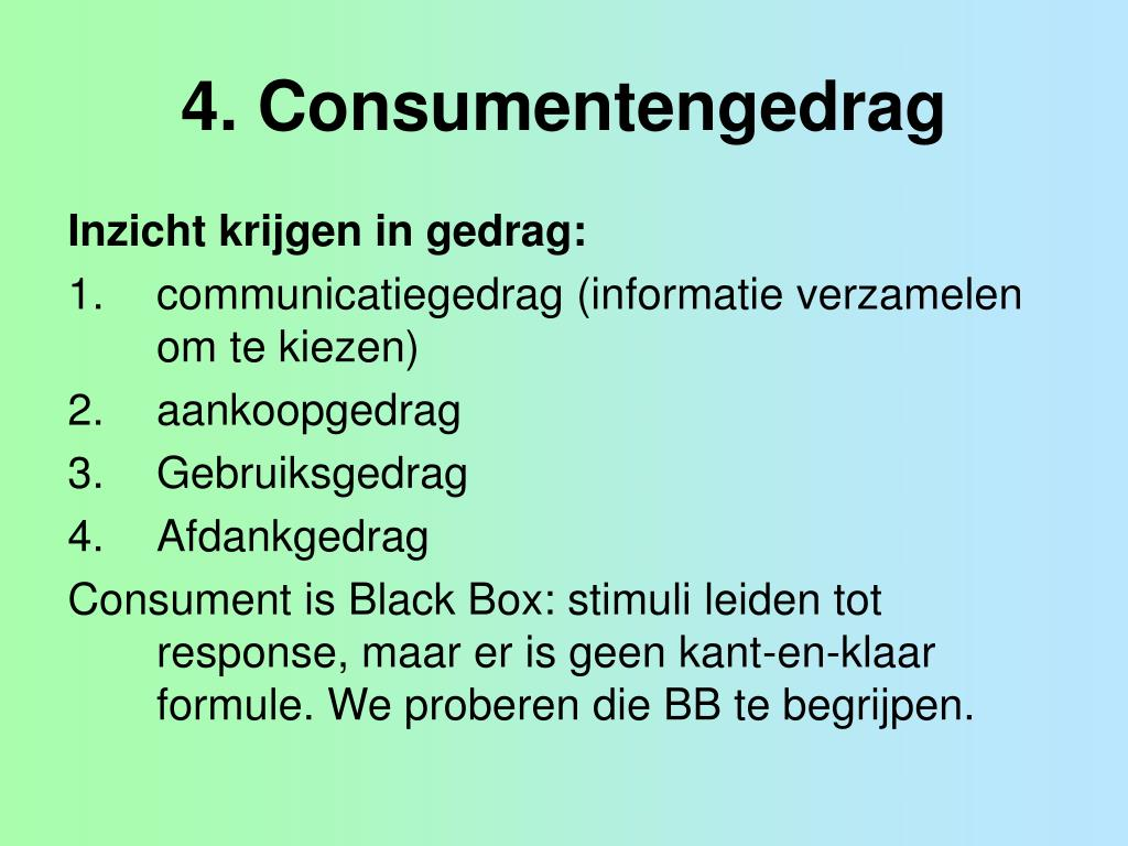 4 consumentengedrag l.