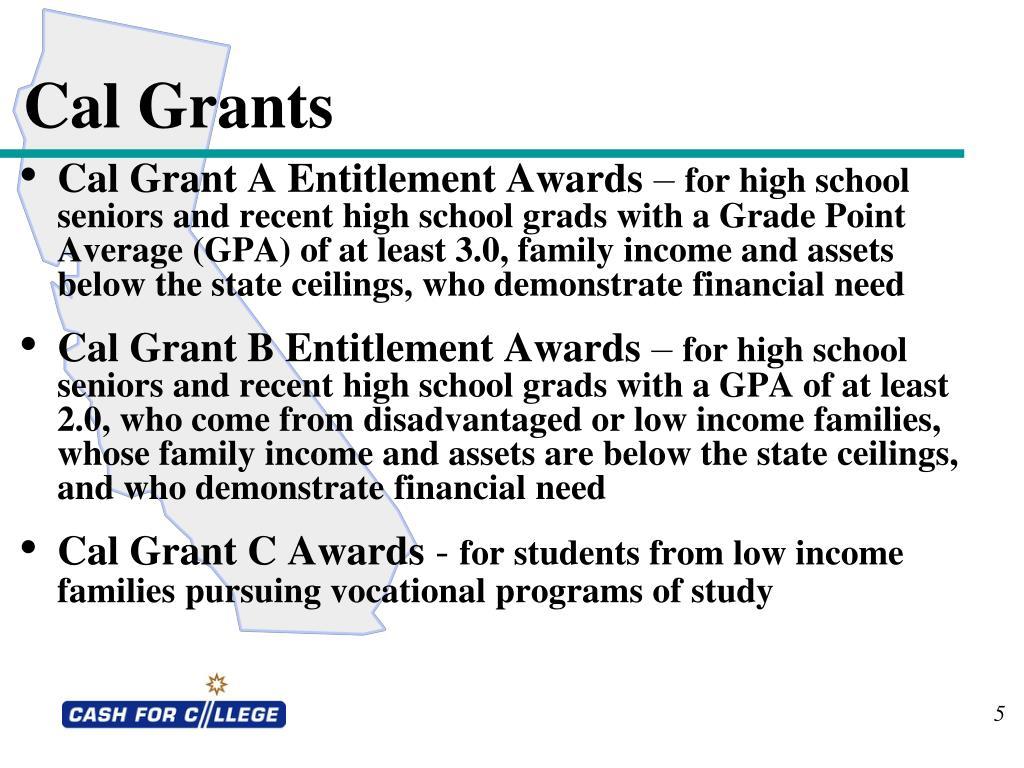 Cal Grants