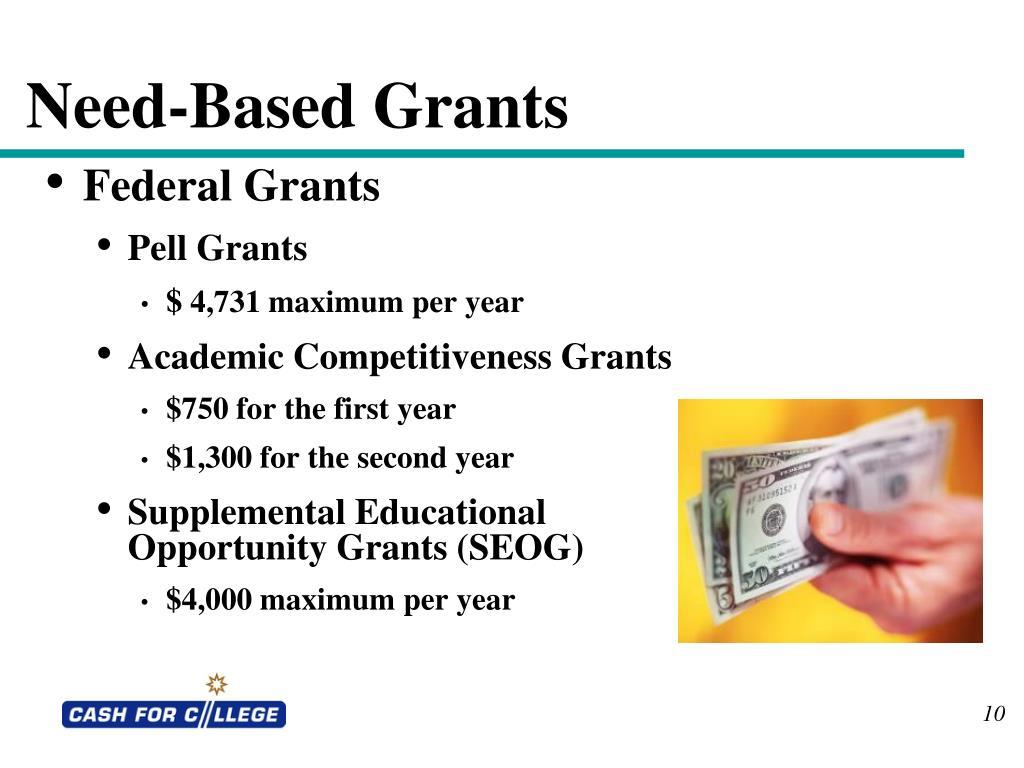 Need-Based Grants