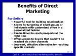 benefits of direct marketing11