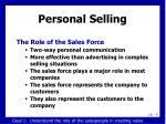 personal selling6