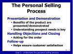 the personal selling process8