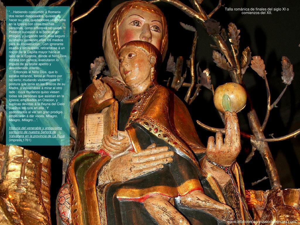 Talla románica de finales del siglo XI o comienzos del XII.