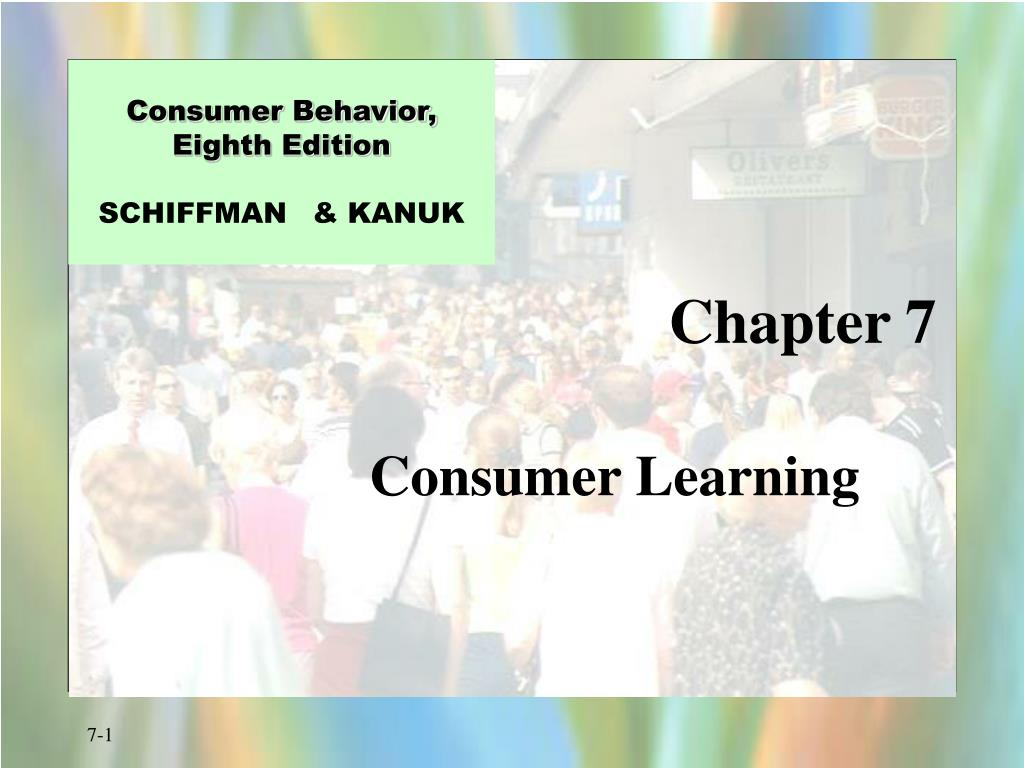 Consumer Behavior,