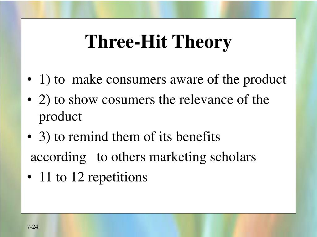 Three-Hit Theory