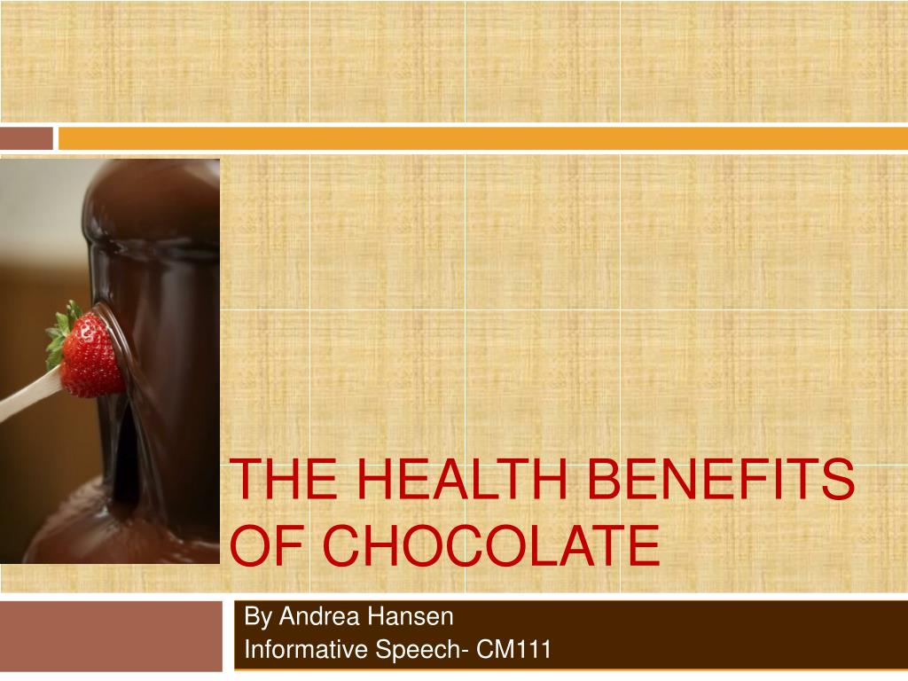 informative speech chocolate Caffeine informative speech caffeine caffeine is found in coffee, tea, hot chocolate, soda, chocolate and many medicines when consumed.