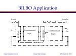 bilbo application