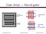 gate array sea of gates