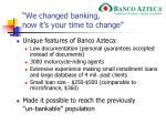 we changed banking now it s your time to change