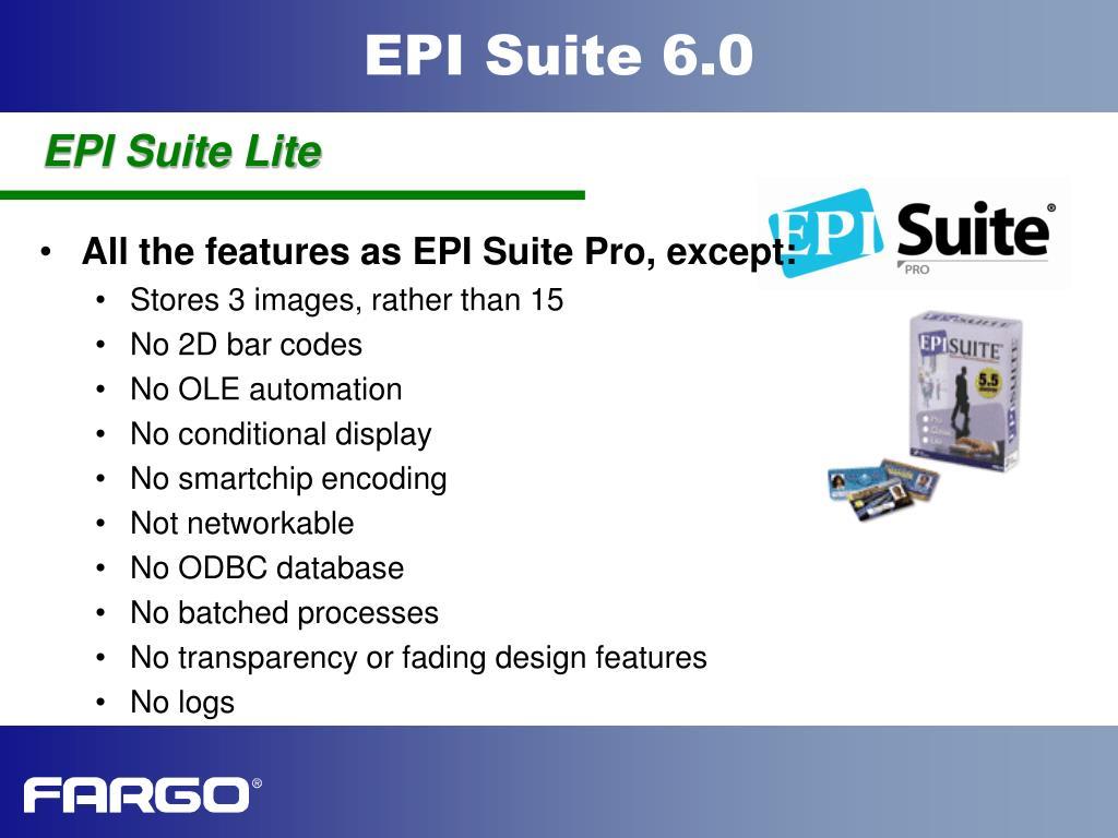 EPI Suite Lite