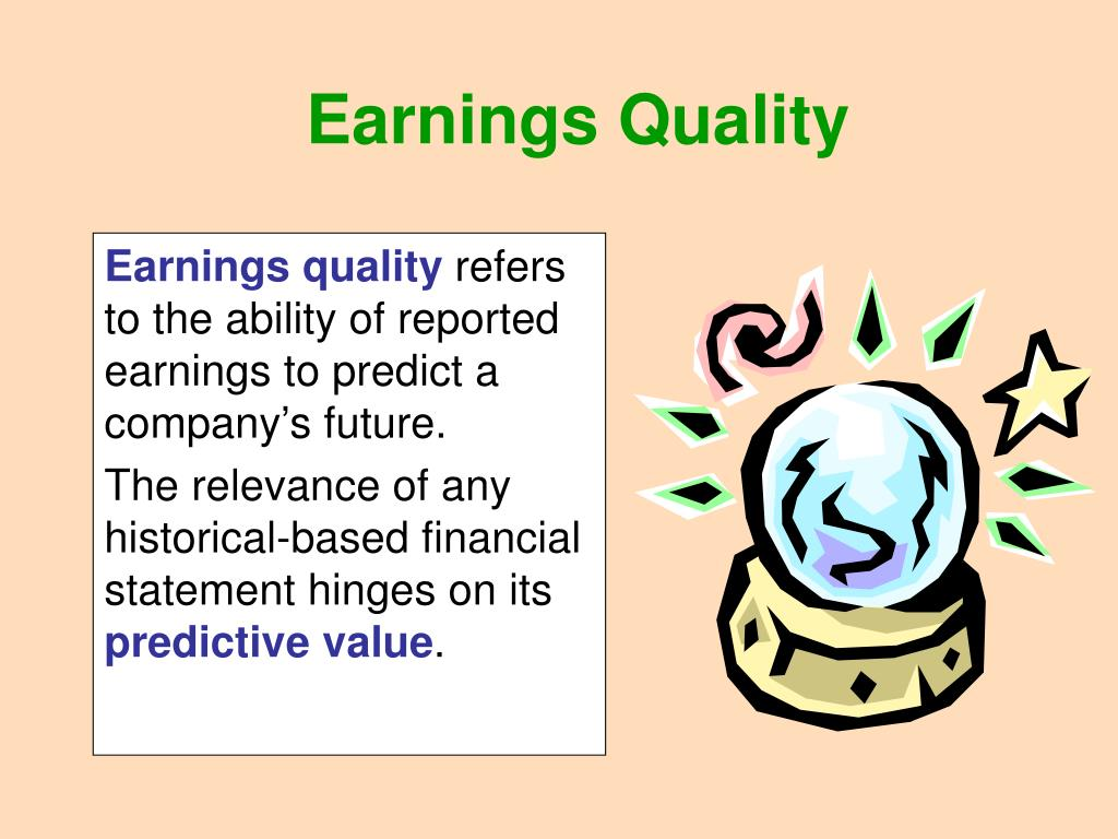 PPT - Earnings Quality PowerPoint Presentation - ID:563579