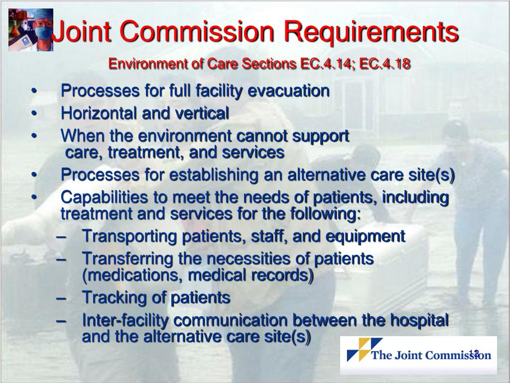 Joint Commission Requirements