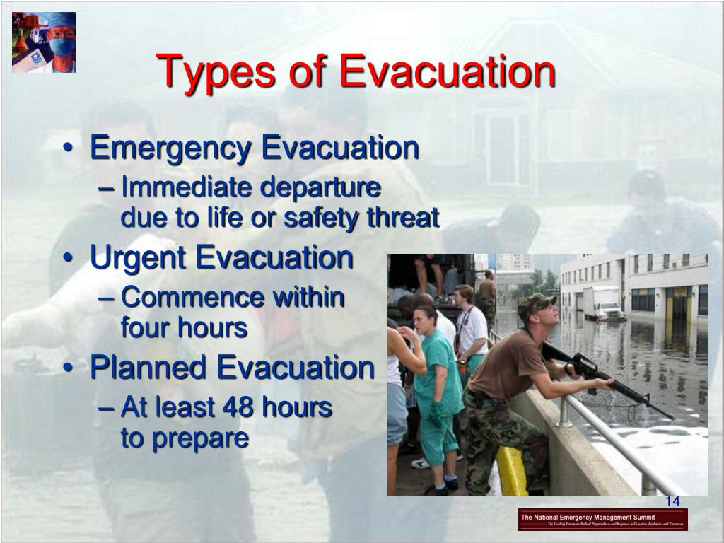 Types of Evacuation