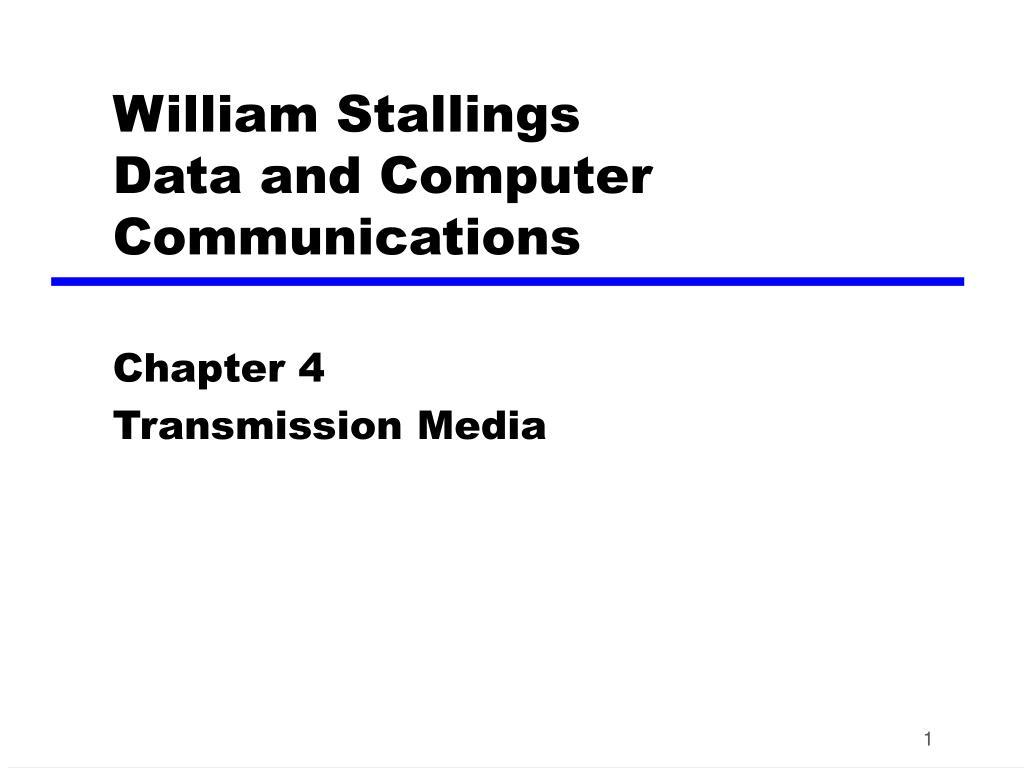 William Stallings