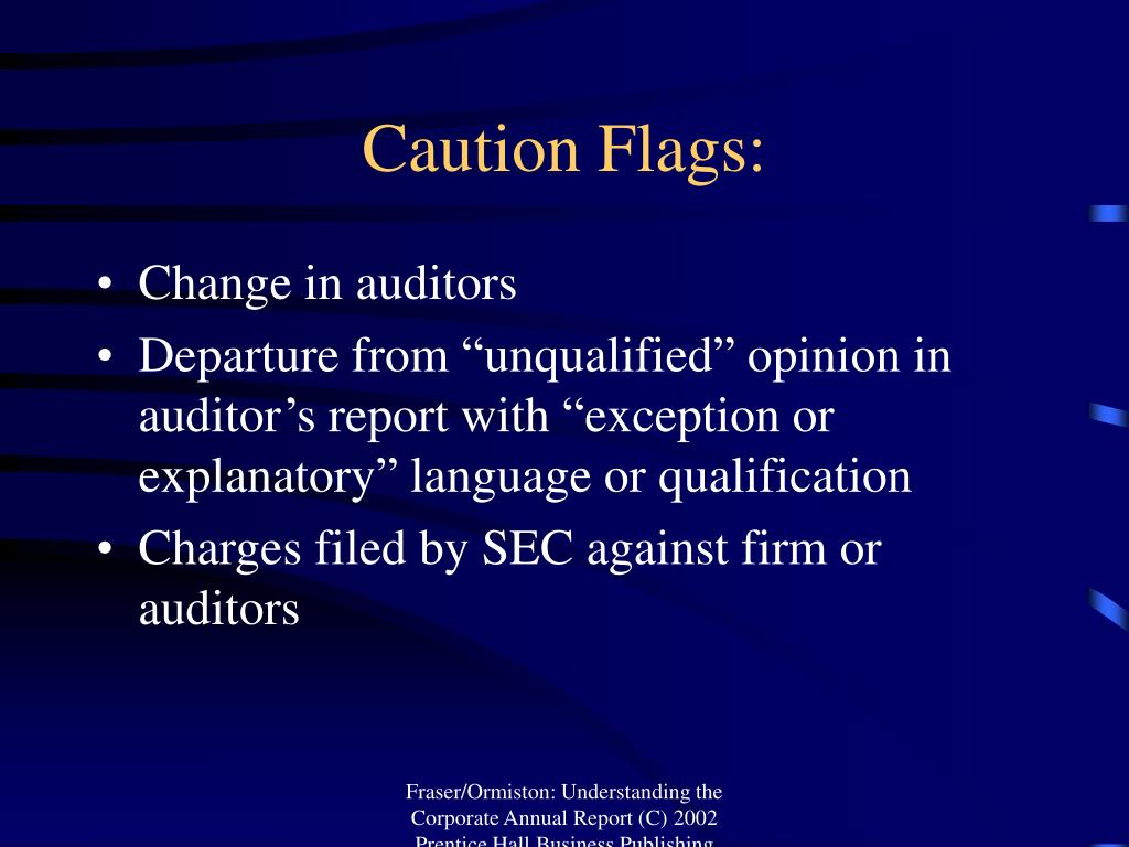 Caution Flags: