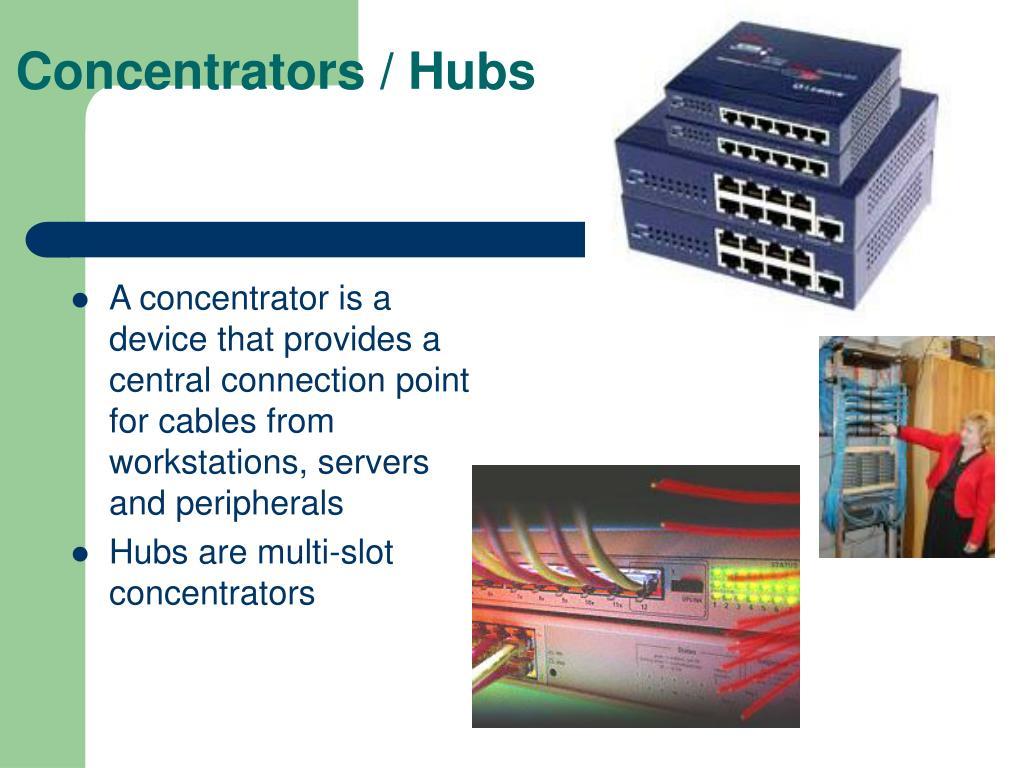 Concentrators / Hubs