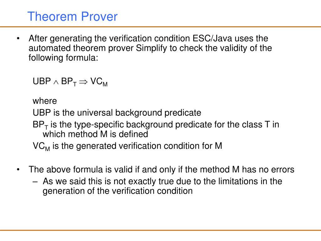 Theorem Prover