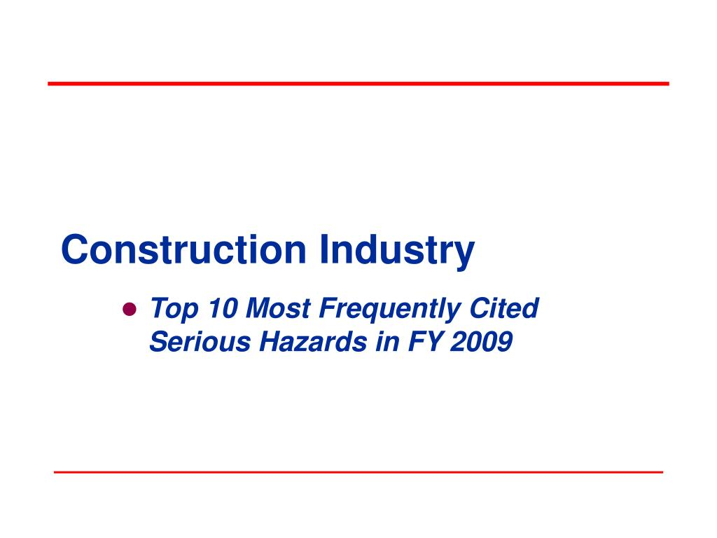 construction industry l.