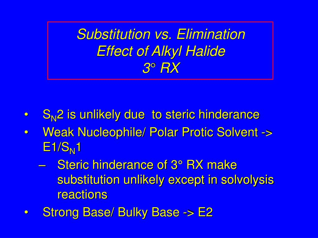 lab report e2 substitution alkyl halides