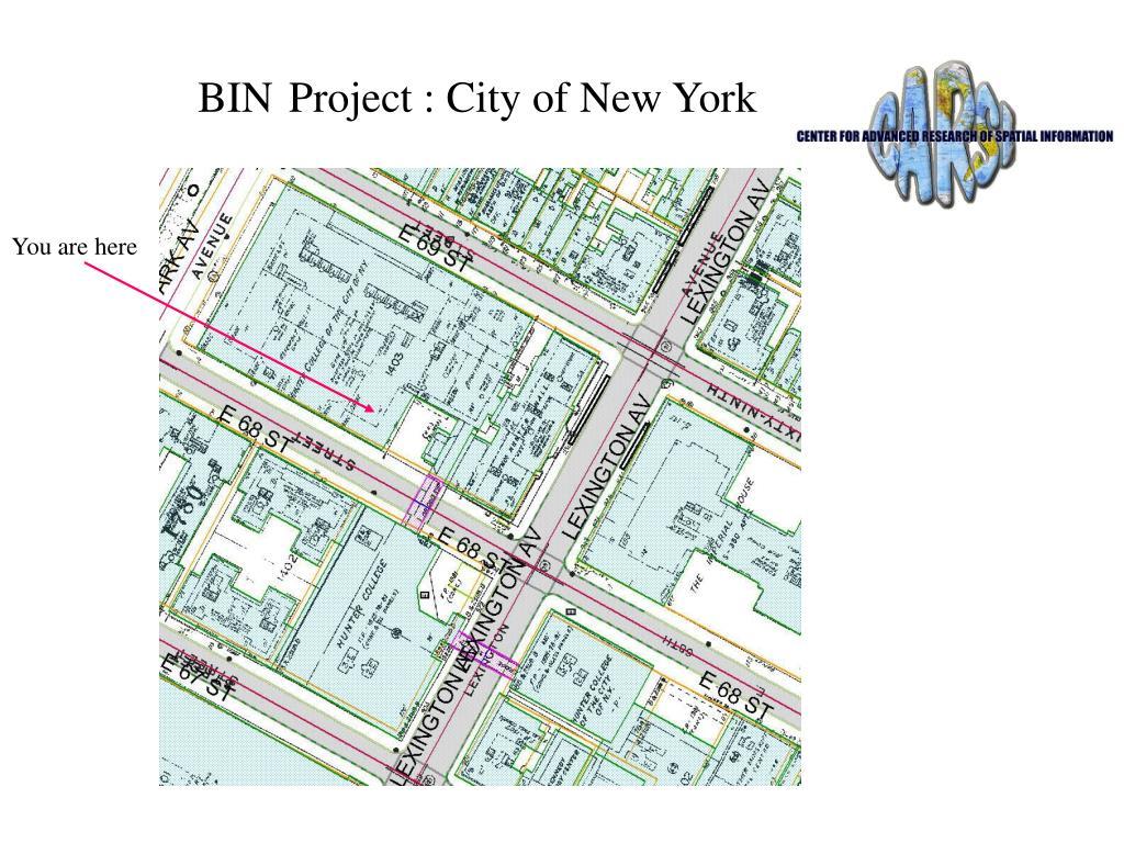 bin project city of new york