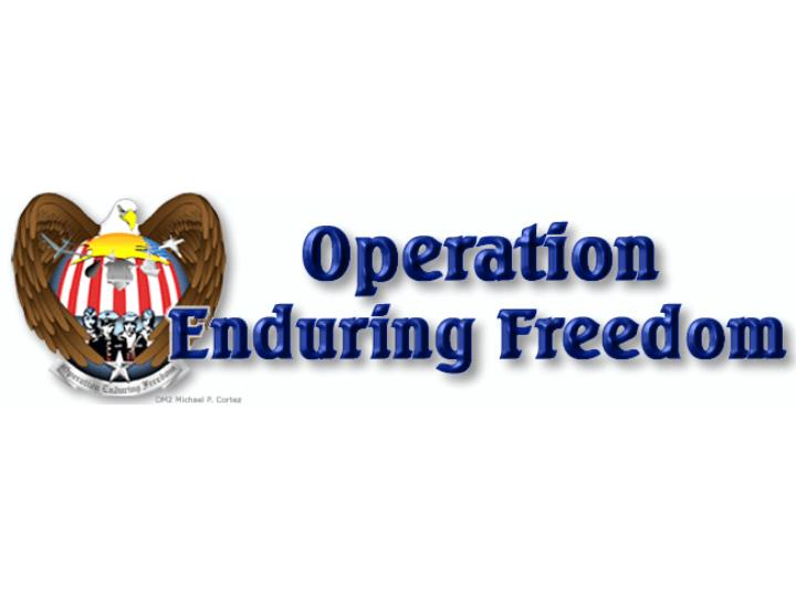 Click here to see a slide show of operation enduring freedom