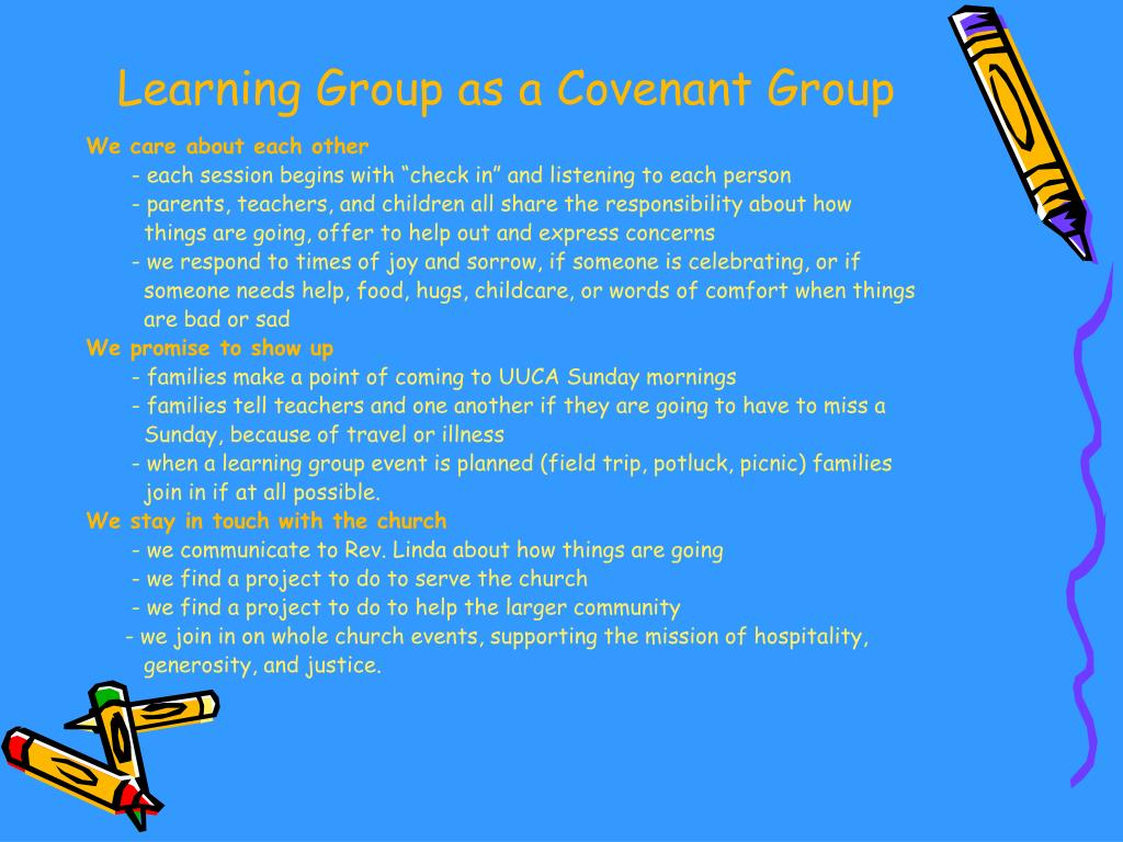 Learning Group as a Covenant Group