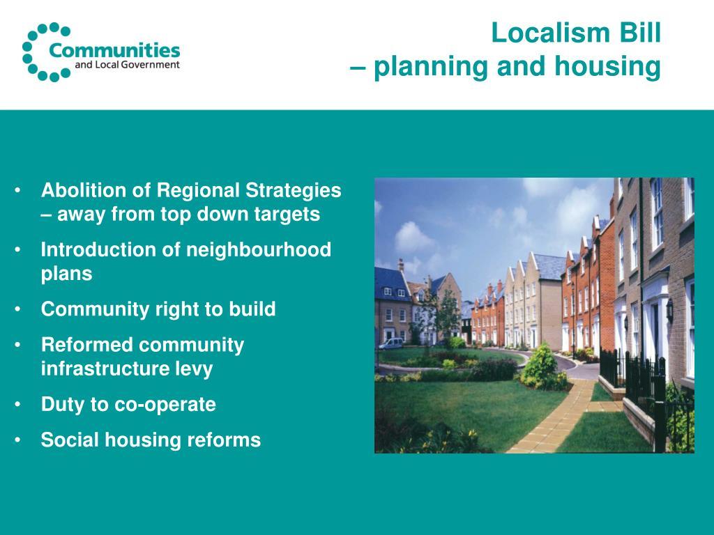 Localism Bill