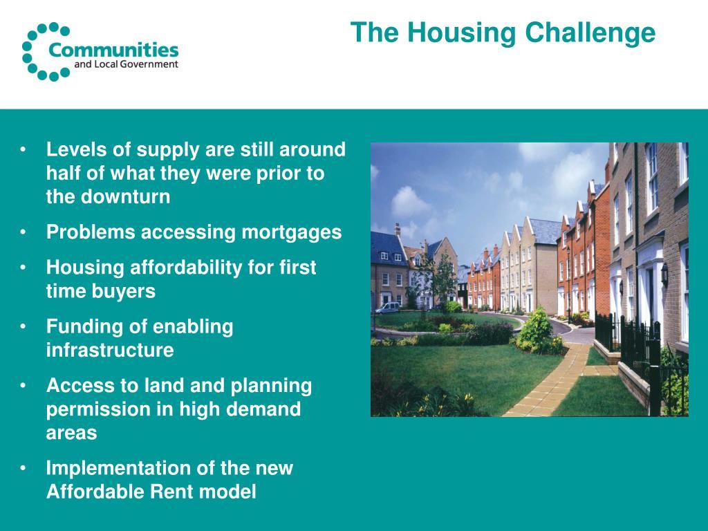 The Housing Challenge