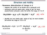 structure and acidity15