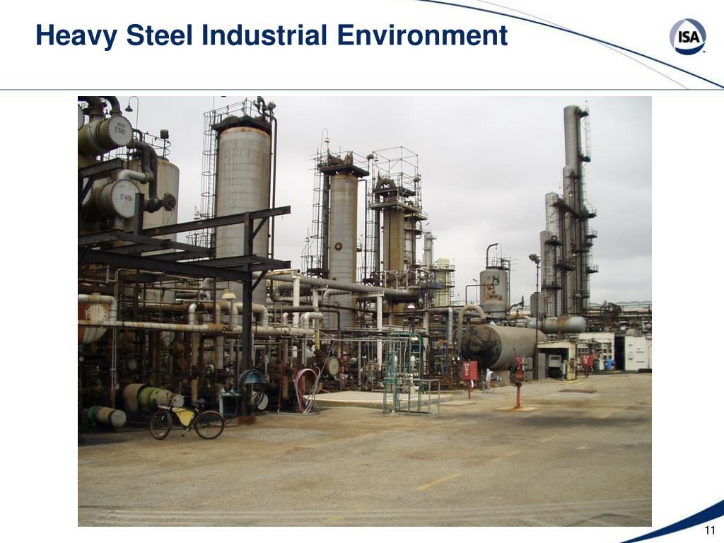 Heavy Steel Industrial Environment