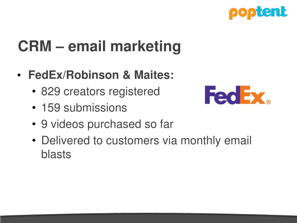 CRM – email marketing