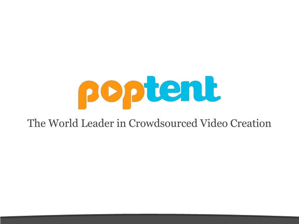 The World Leader in Crowdsourced Video Creation
