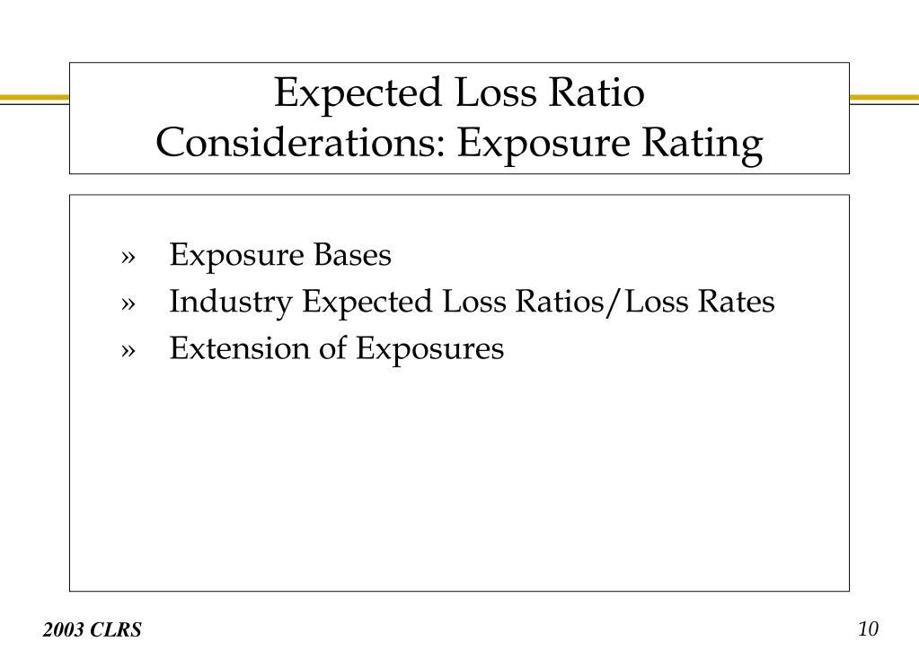 Exposure Bases