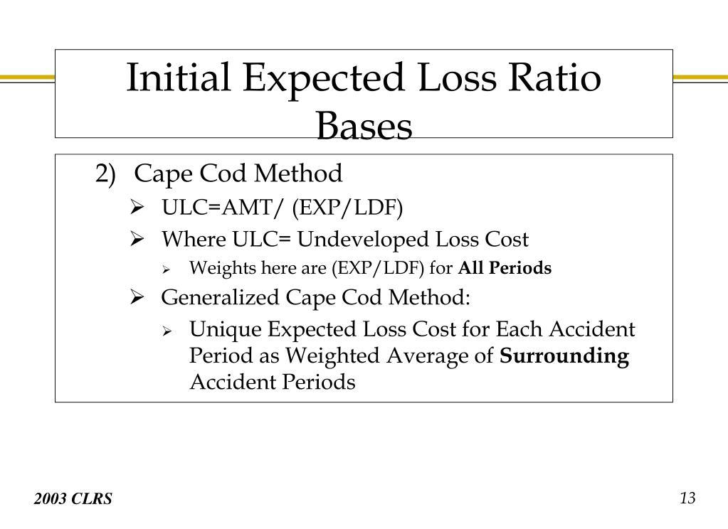 Cape Cod Method