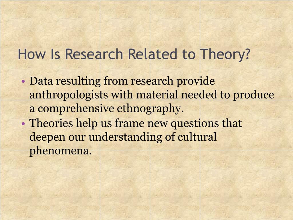How Is Research Related to Theory?