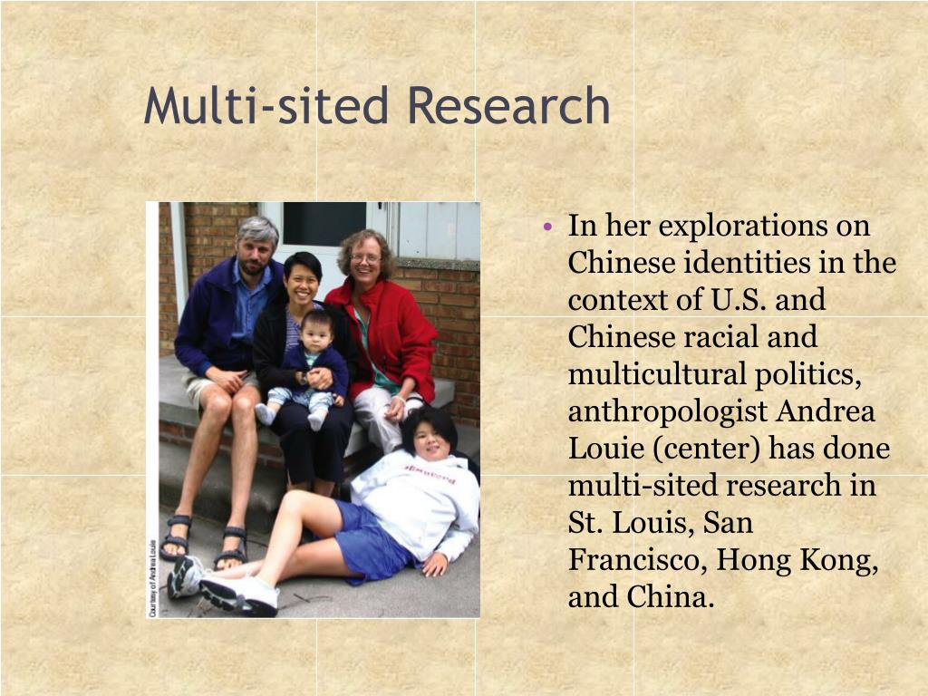 Multi-sited Research