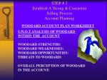 step 3 establish a strong consistent selling process account planning22