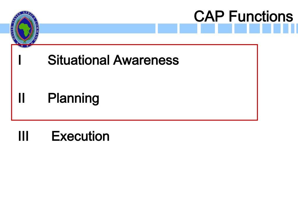 CAP Functions