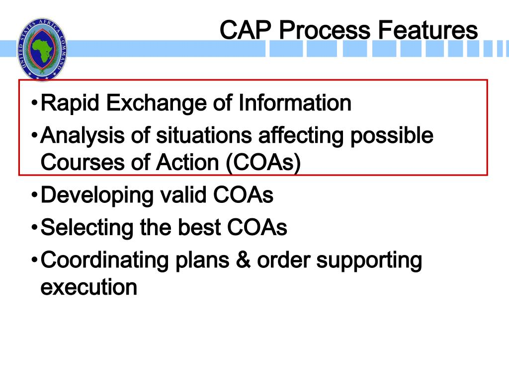 CAP Process Features