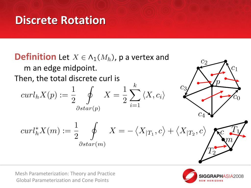 Discrete Rotation