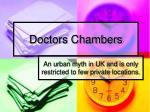 doctors chambers