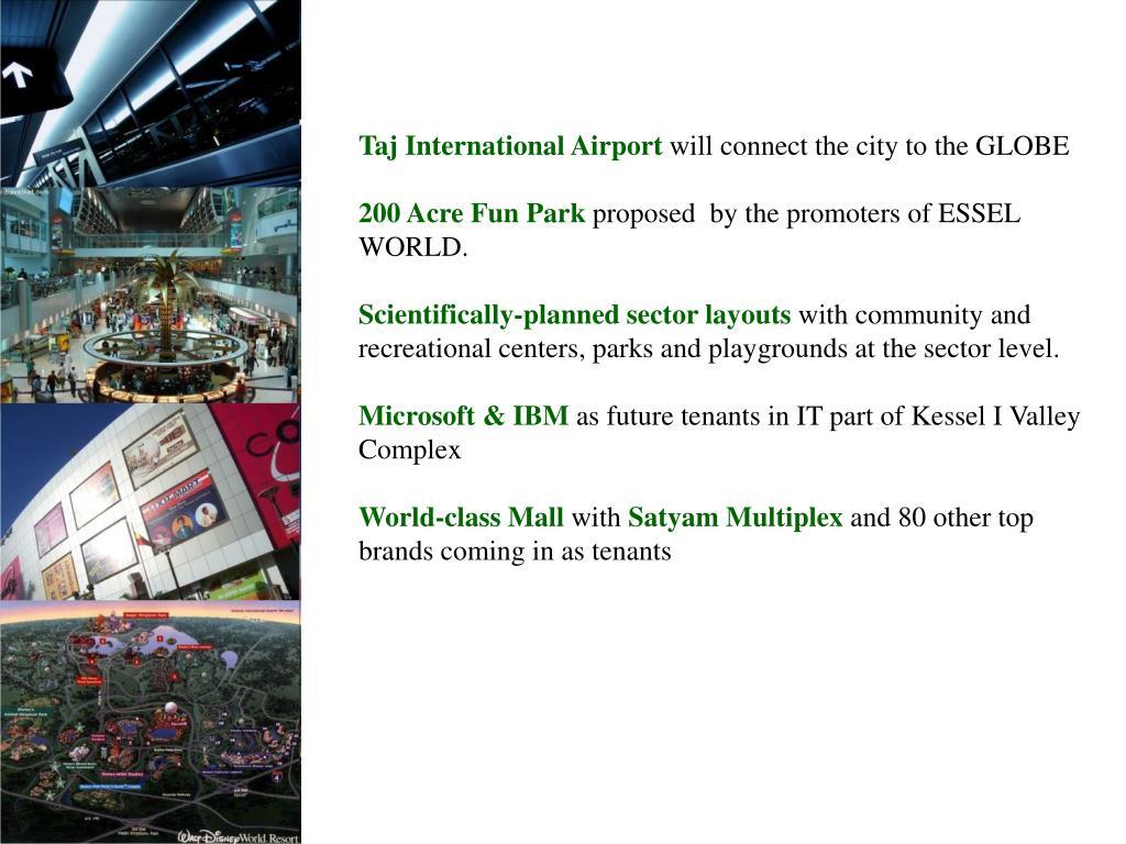 Taj International Airport