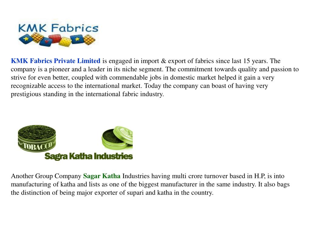 KMK Fabrics Private Limited