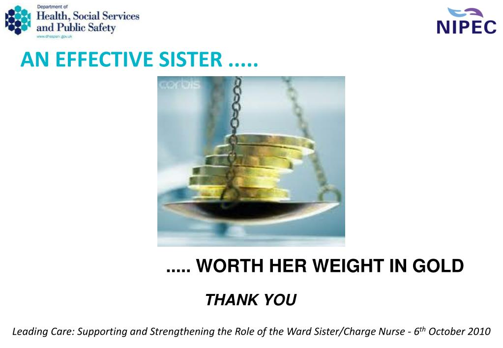 AN EFFECTIVE SISTER .....