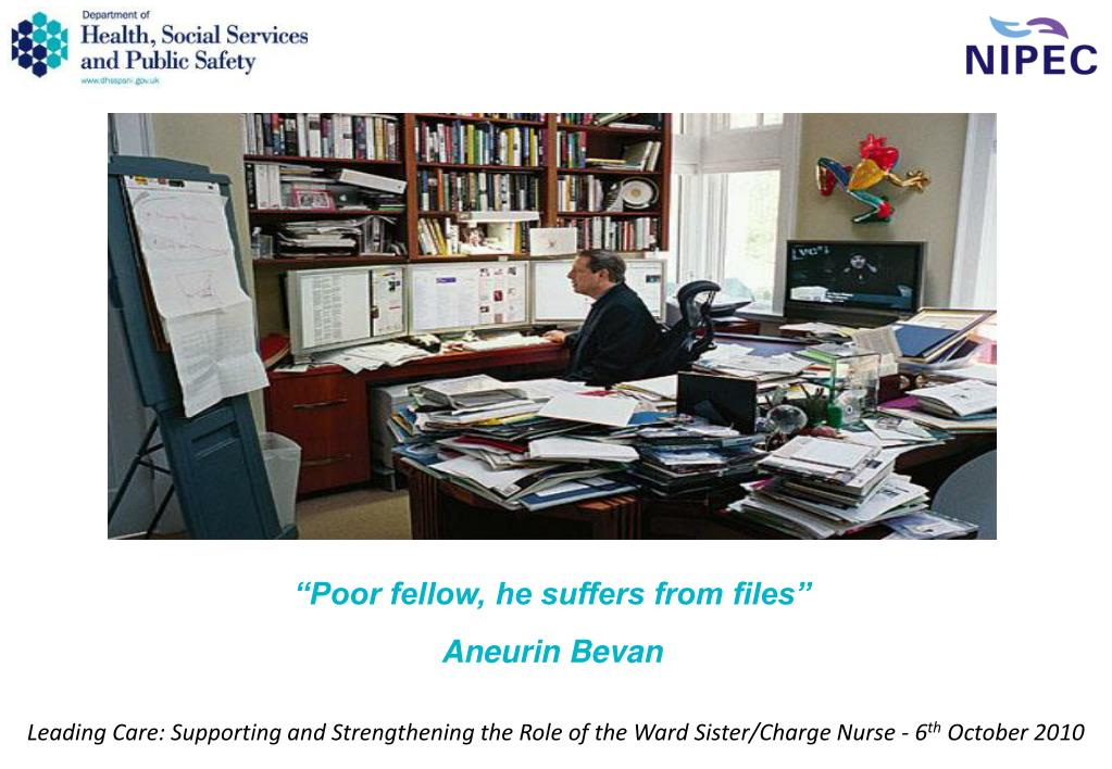 """""""Poor fellow, he suffers from files"""""""