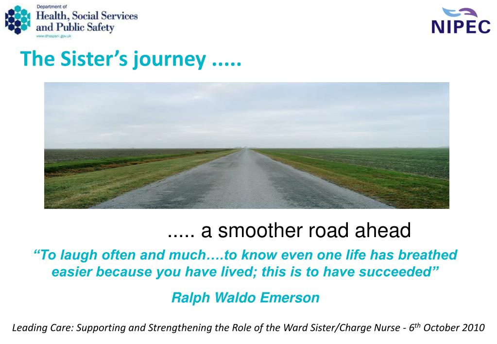 The Sister's journey .....