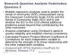 research question analysis undertaken question 225