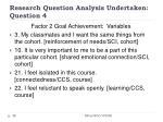 research question analysis undertaken question 438