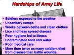 hardships of army life22